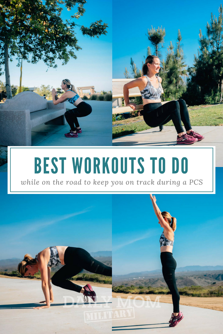 PCS Workouts to Keep You on Track While You're On the Road