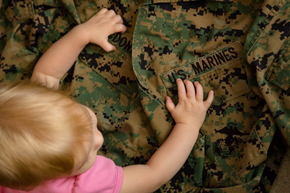 4 Ways to Keep a Military Parent Connected During Baby's First Year