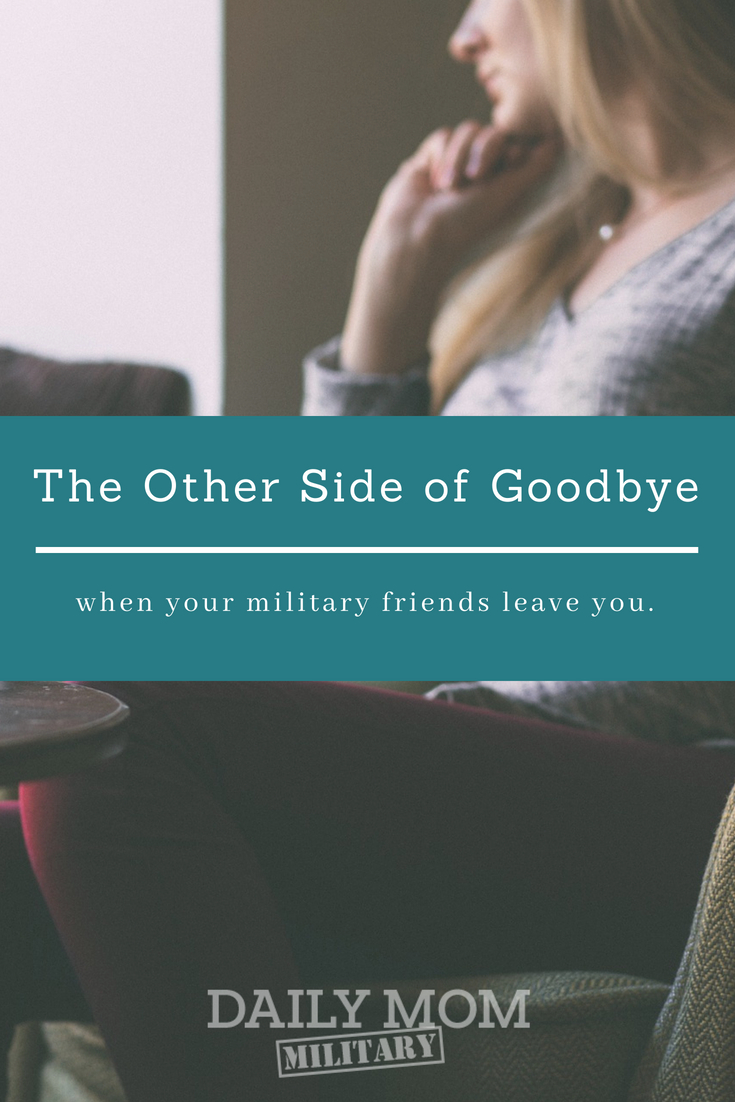 Saying Goodbye to Military Friends