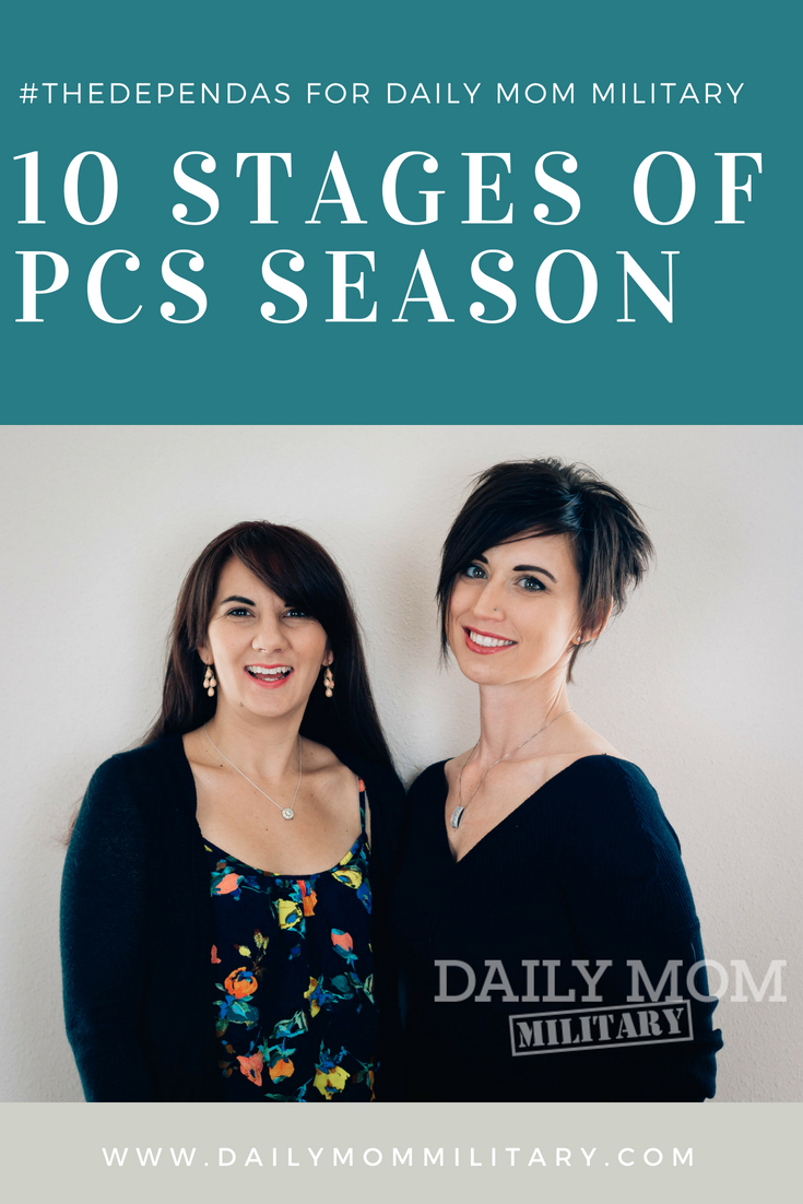10 Stages of PCS Season