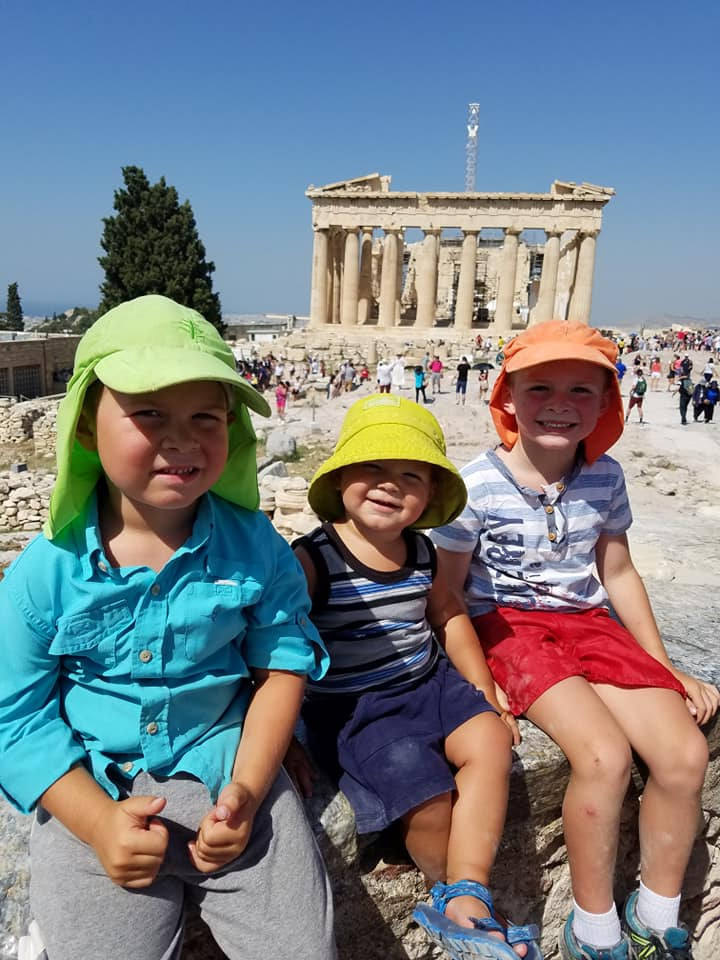 My Life in Ruins: Athens, Greece