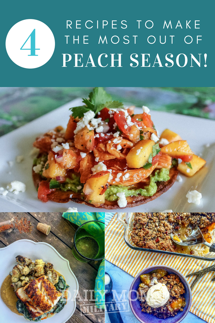 4 Recipes To Make The Most Out Of Peach Season Pin Image