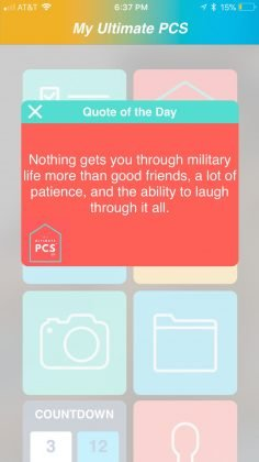 Quote-Screen