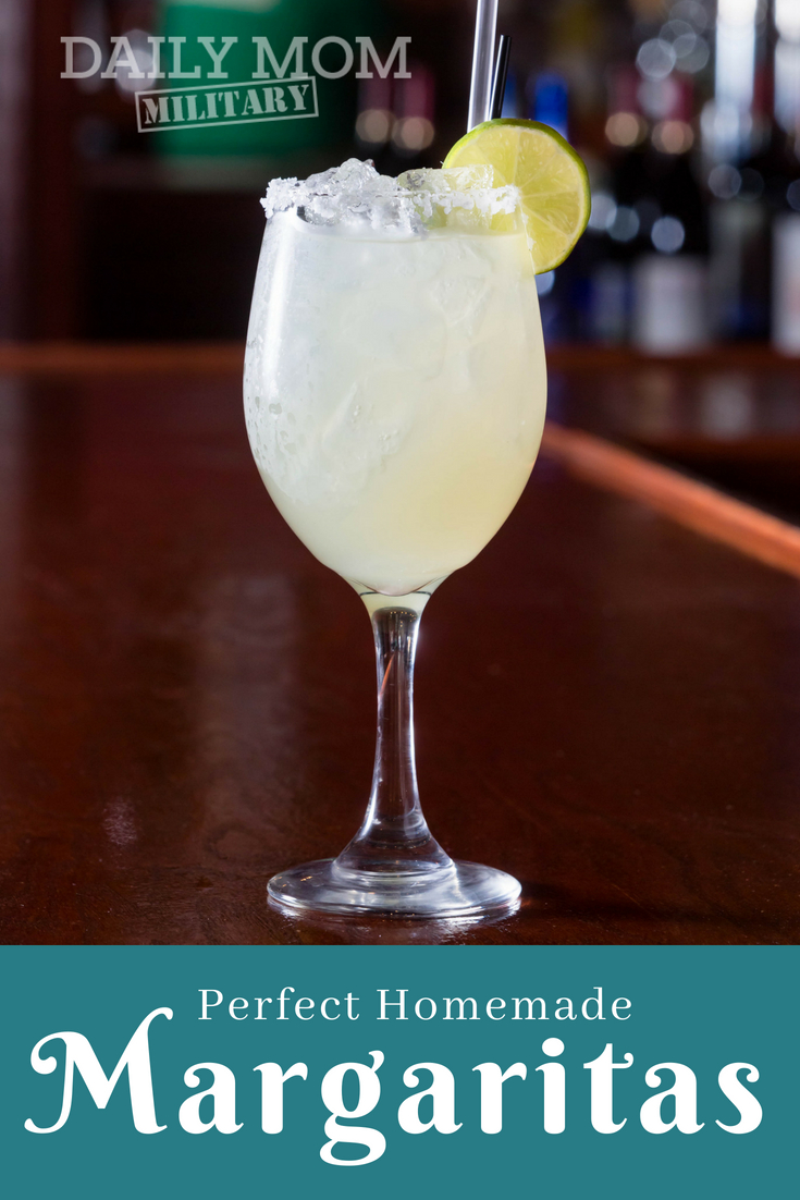 How to Make the Perfect Homemade Margaritas