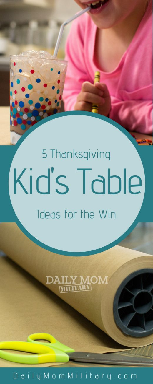 5 Thanksgiving Kid's Table Ideas for the Win