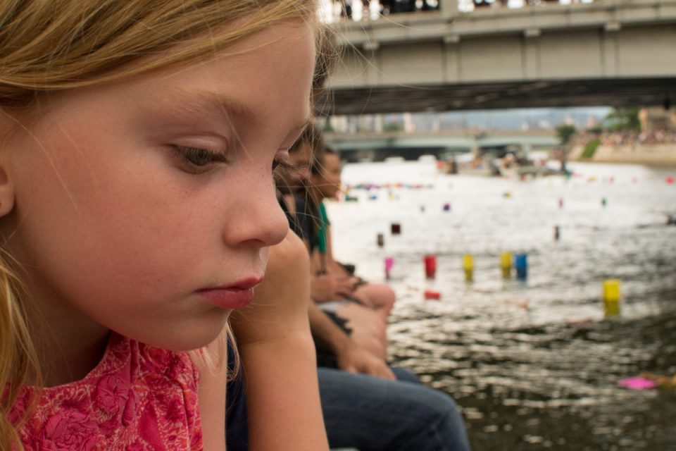An American at the Annual Hiroshima Peace Memorial Ceremony