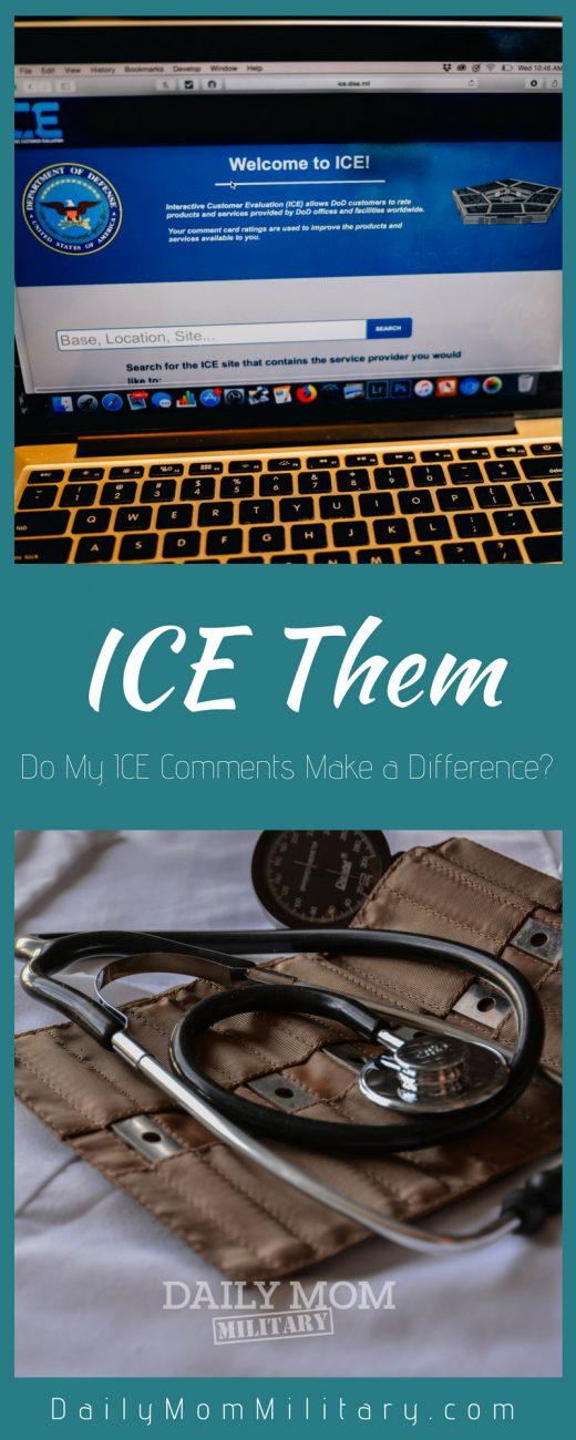ICE Them: Do My ICE Comments make a difference