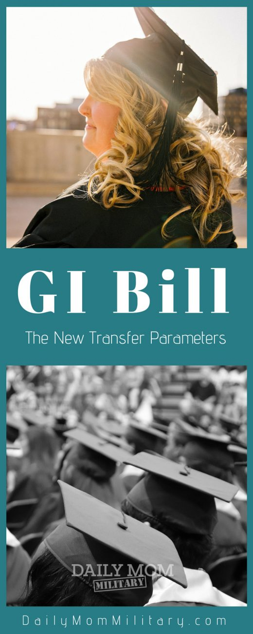 GI Bill transfer parameters are different