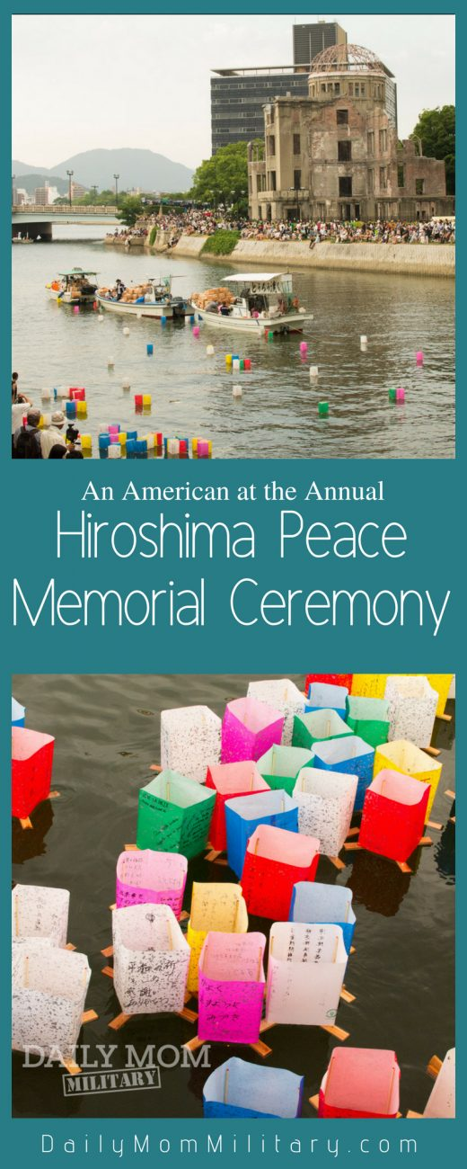 An American at the Annual Hiroshima Peace Ceremony