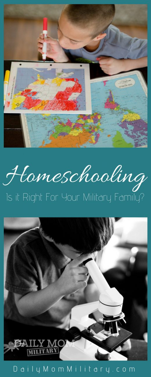 Is Homeschooling Right for Your Military Family