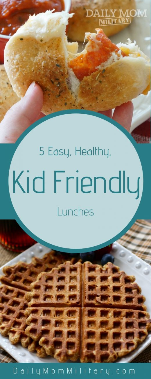 Healthy kid-friendly lunches