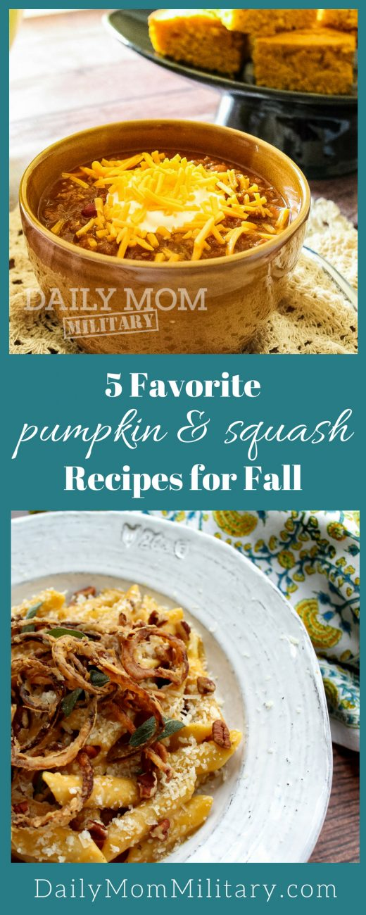 5 Favorite Squash and Pumpkin Recipes For Fall