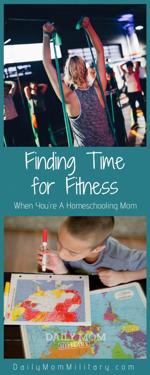 fitness as a homeschooling mom