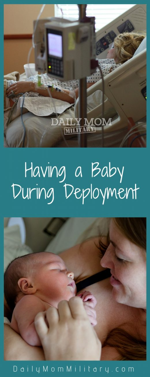 Having a baby during deployment