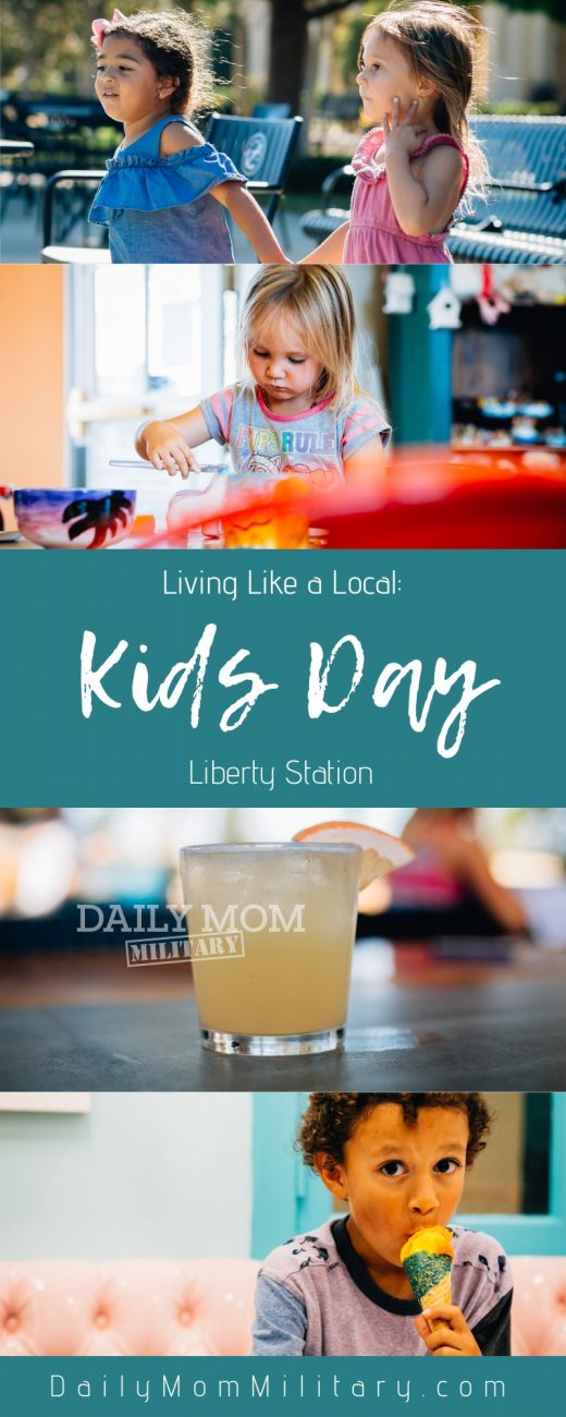 living like a local kids day liberty station
