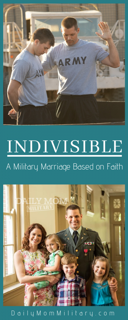 Indivisible a military marriage based on faith