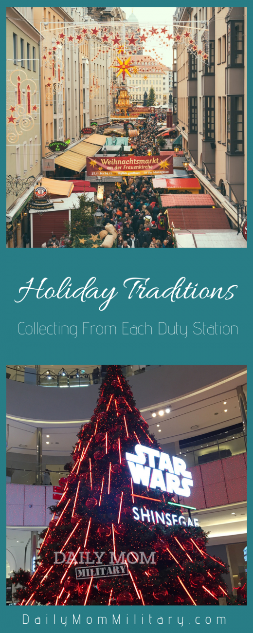 duty station holiday traditions