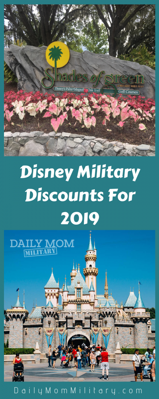 Disney Military Discounts For 2019