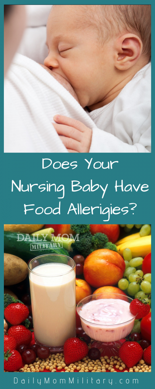 does your nursing baby have food allerigies