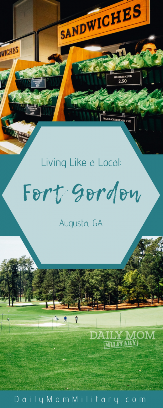 living like a local fort gordon
