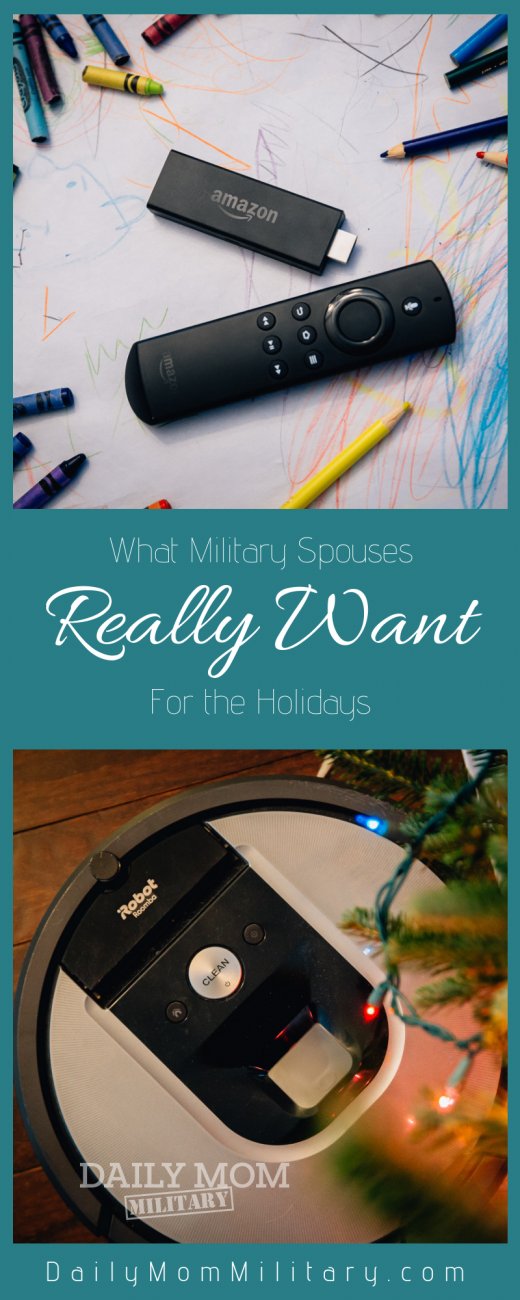 what military spouses really want for the holidays