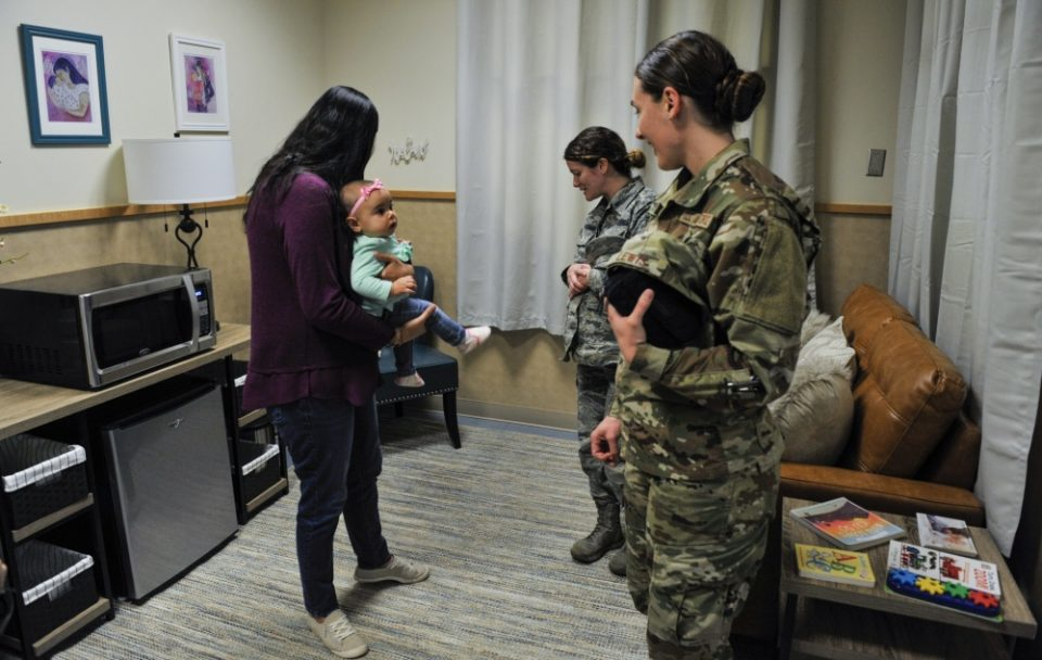 Aeroflow Breastpump Room Daily Mom Military