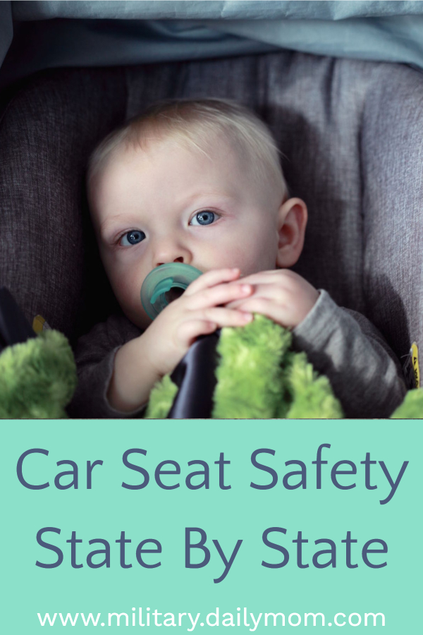car seat safety state by state