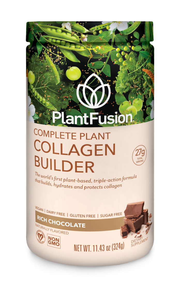 complete plant collagen builder rich chocolate
