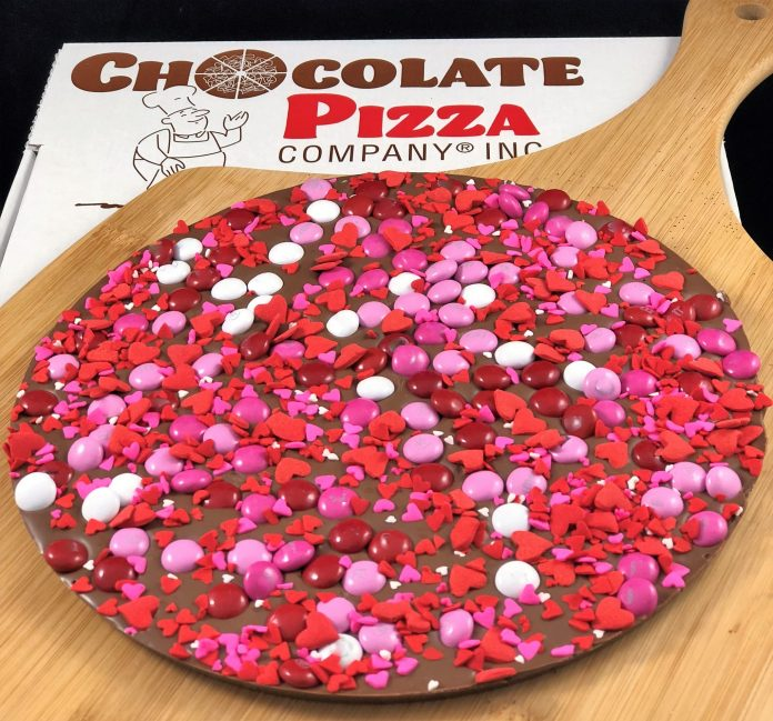crazy for you chocolate pizza