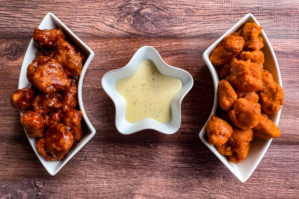 5 super bowl snack ideas for game day_boneless chicken wings