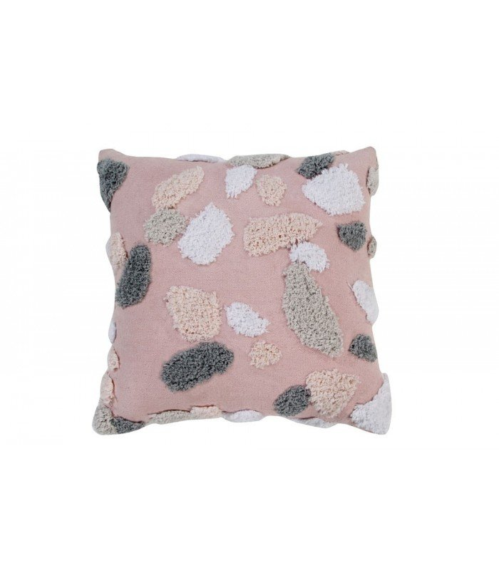 lorena canals terrazzo rose quartz pillow