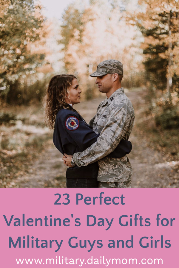 valentines gifts for military guys and girls