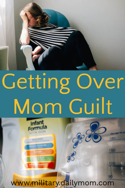 Move past mom guilt