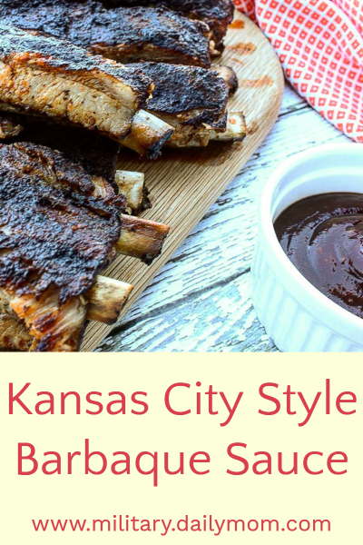 kansas city style barbecue sauce