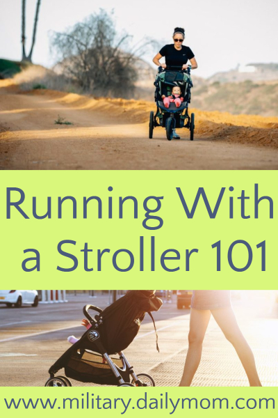 running with a stroller 101