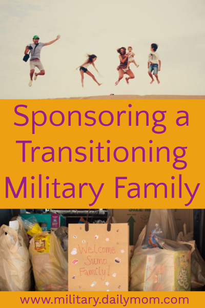 sponsoring a military family