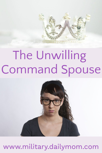 command spouse was the last thing you wanted