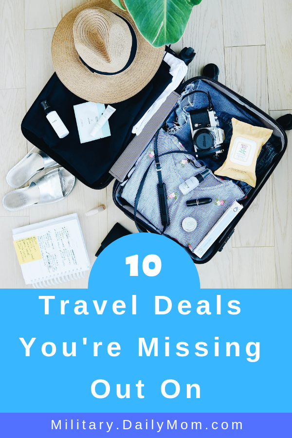 10 travel deals youre missing out on
