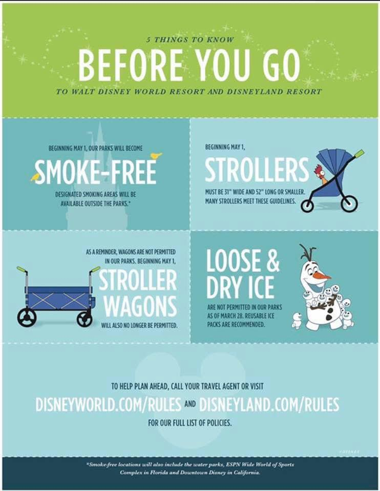 Disney banning strollers Daily Mom Military