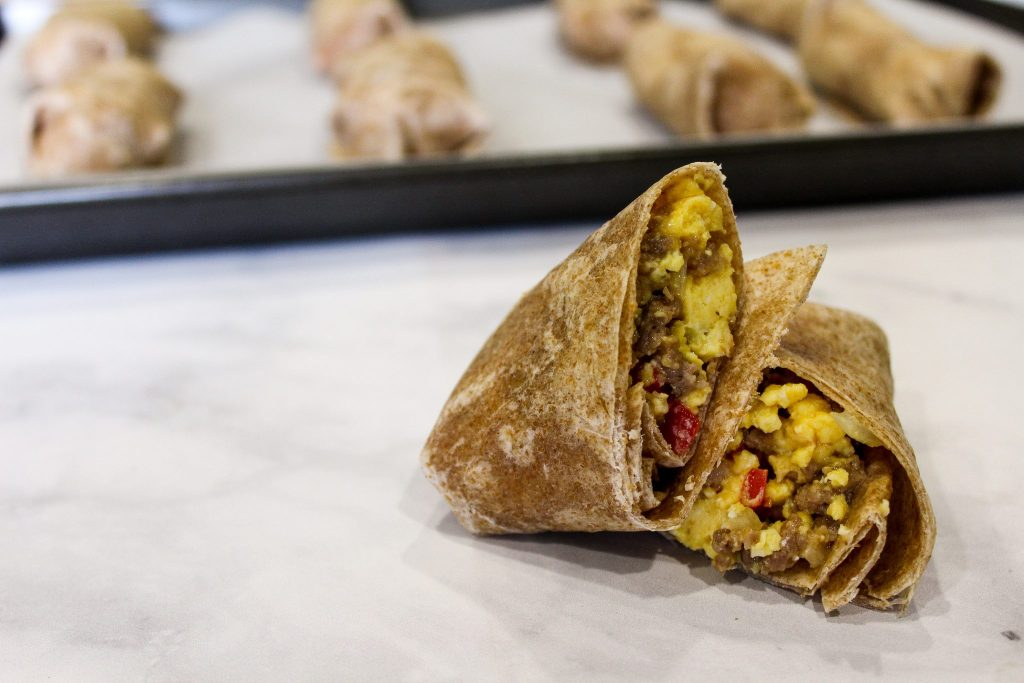 Delicious Freezable Breakfast Burritos For Busy Mornings