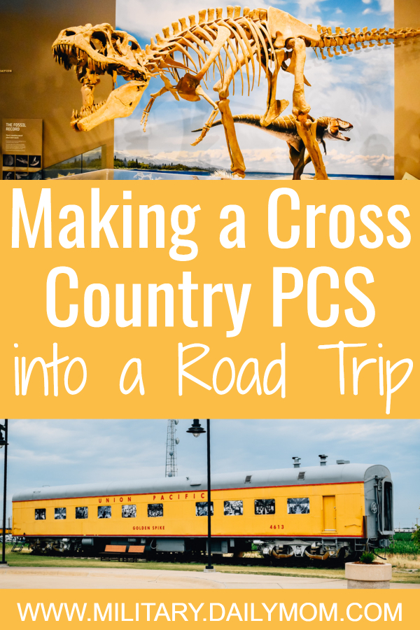 making a cross country pcs into a road trip