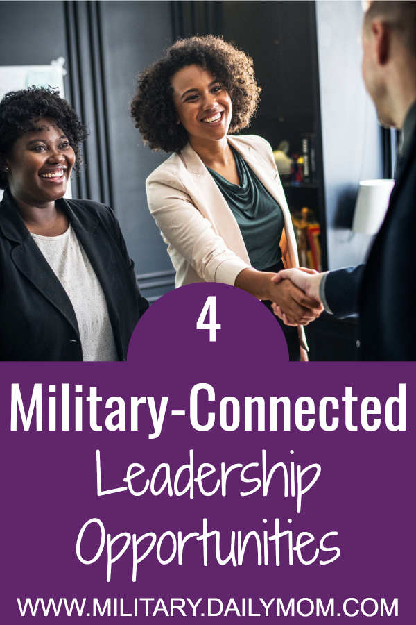 military connected leadership opportunities