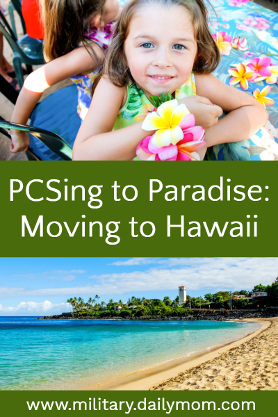 pcsing to paradise hawaii