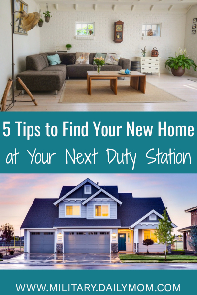 new duty station home Daily Mom Military