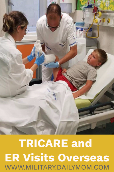 tricare and er visits
