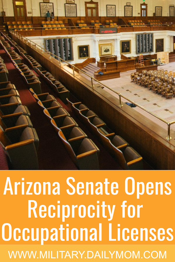 Arizona Opens The Door To Reciprocity For Occupational Licenses
