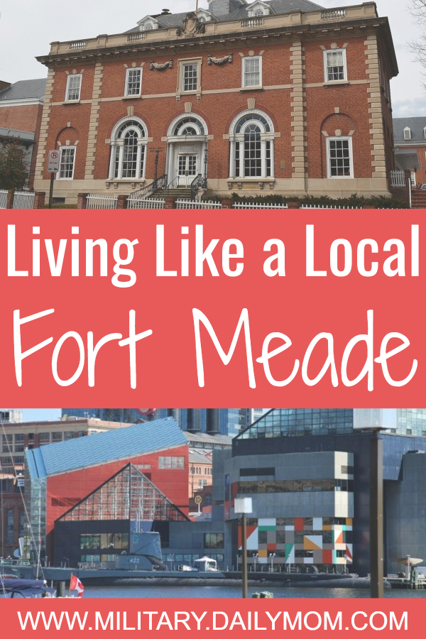 living like a local fort meade