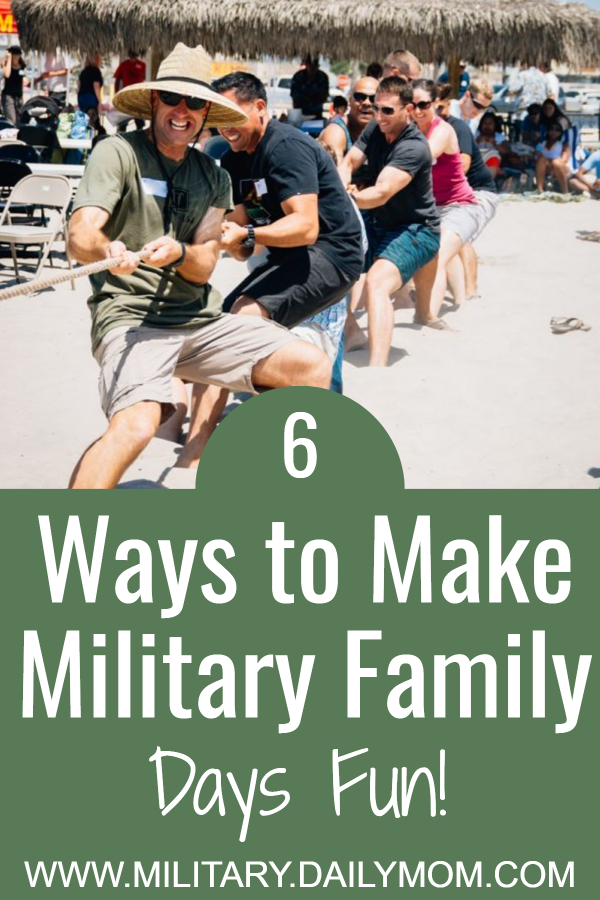 ways to make military family days fun