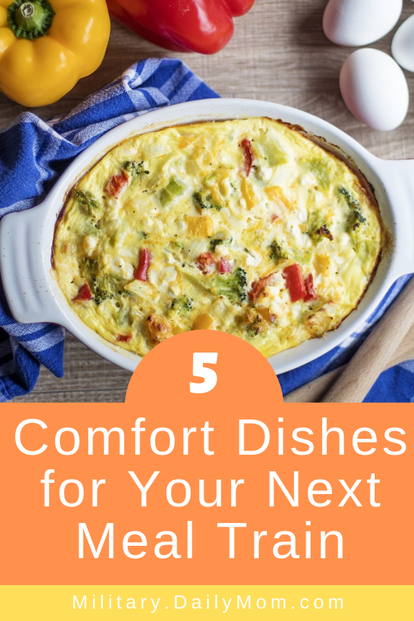 5 comfort dishes for your next meal train