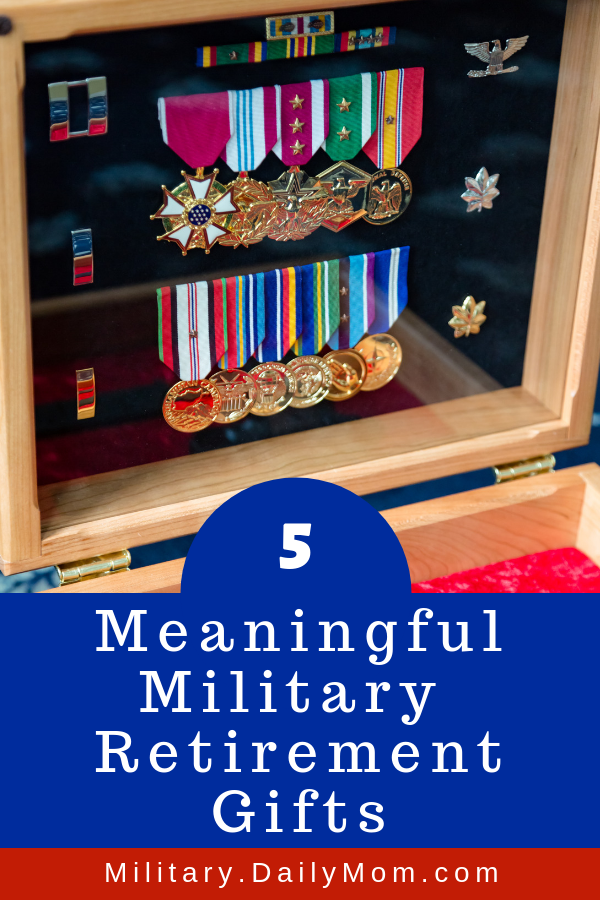 5 meaningful military retirement gifts